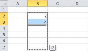 Excel - Wypełnianie serią i kopiowanie
