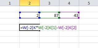 Excel - Adresowanie komórek