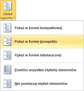 Excel - Modyfikowanie wyglądu tabeli przestawnej