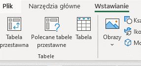 Mapy w Excelu